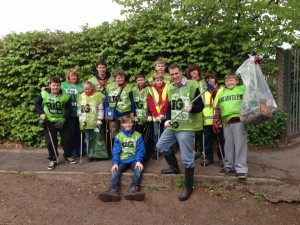 Scouts meet their local MP